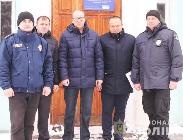 На Маневиччині відкрили першу поліцейську станцію. ФОТО