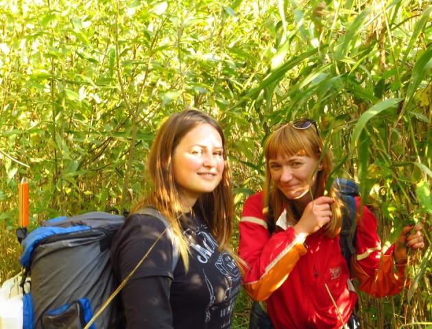 Волинські освітяни ходили у дводенний похід навколо «Чортового болота». ФОТО