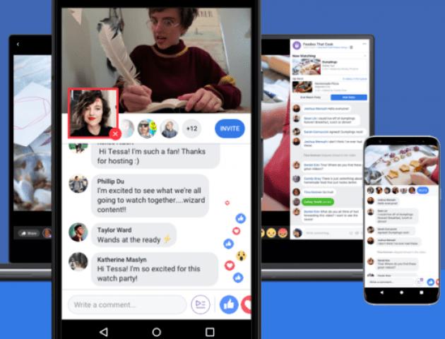 У Фейсбуці - нова функція: спільний перегляд відео
