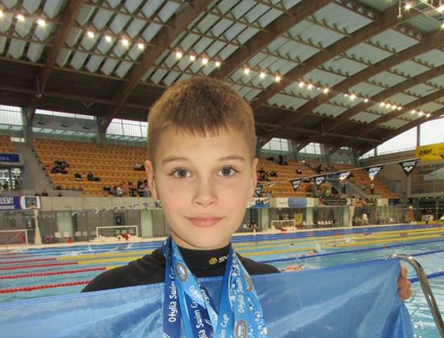 Юний лучанин виборов на міжнародних змаганнях у Польщі 5 медалей. ФОТО