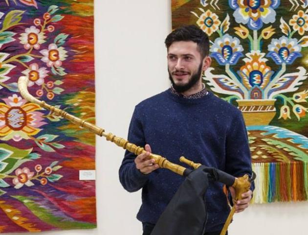 Майстер інструментів з Луцька презентував свої роботи в Києві. ФОТО