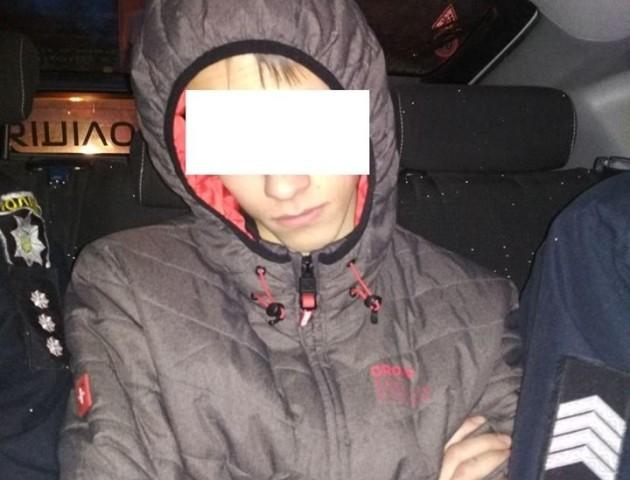 У Луцьку зловили школяра, який намагався вкрасти алкоголь
