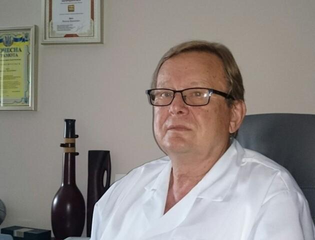 Помер відомий волинський лікар Микола Цюх