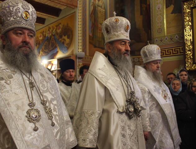 Митрополит Онуфрій очолив службу в монастирі на Волині. ФОТО