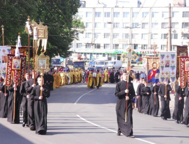 У Луцьку відбудеться традиційний щорічний хресний хід