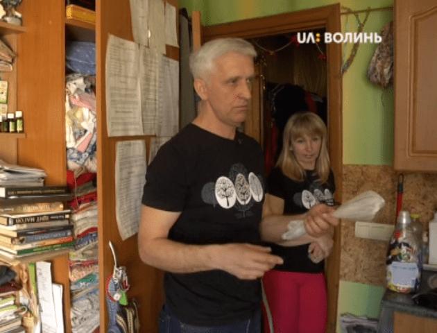 Лучанин Вадим Курбан розповів, як навчився заробляти на смітті. ВІДЕО