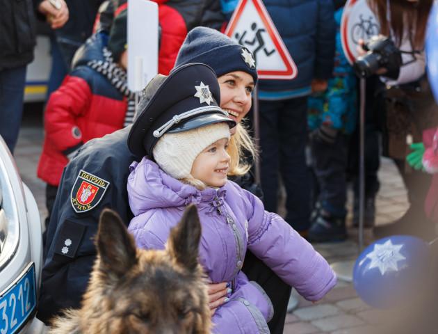 Різдво з луцькими патрульними: як це було. ФОТОРЕПОРТАЖ
