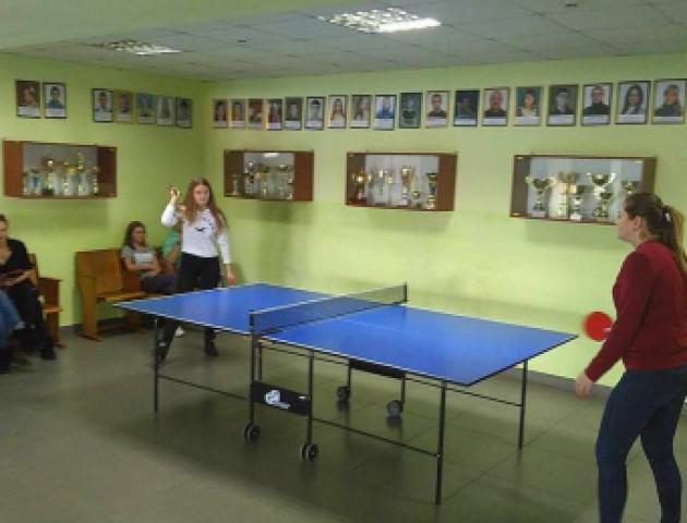 Сільські аматори визначили кращих у настільному тенісі