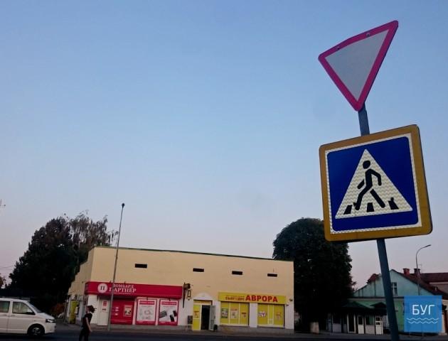 У місті на Волині оновлять розмітку на пішохідних переходах