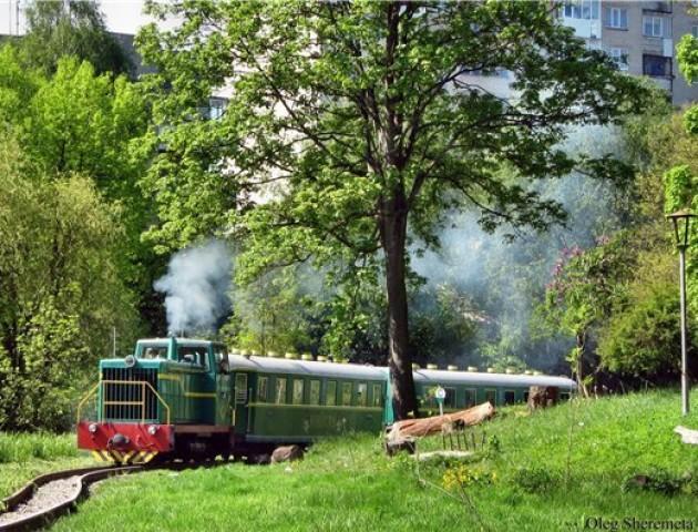Як у Луцьку працює дитяча залізниця. ВІДЕО