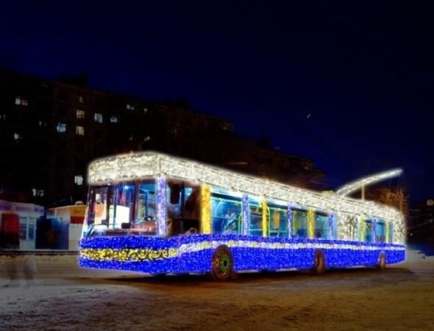 Який транспорт їздитиме у Луцьку в новорічну ніч