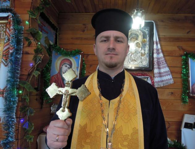 Волинський капелан розказав, як потрапив під обстріли на Сході
