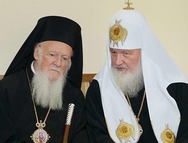 Варфоломій оголосив патріарху Кирилу своє рішення щодо автокефалії УПЦ