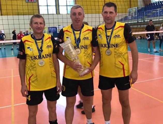 Луцькі волейболісти у складі команди отримали «золото» на чемпіонаті. ФОТО