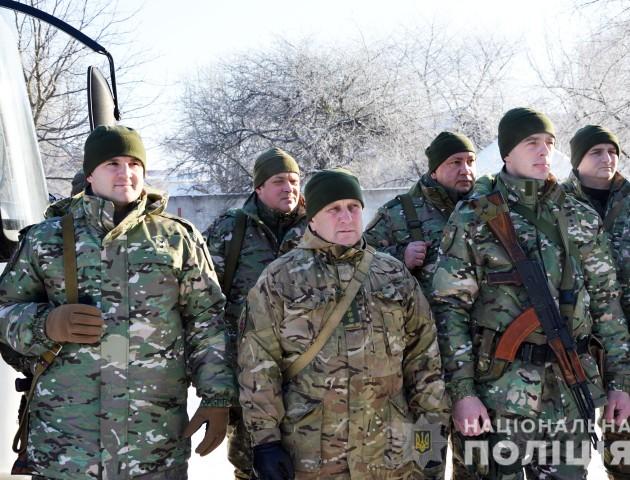 Волинські бійці поїхали на Схід. ФОТО