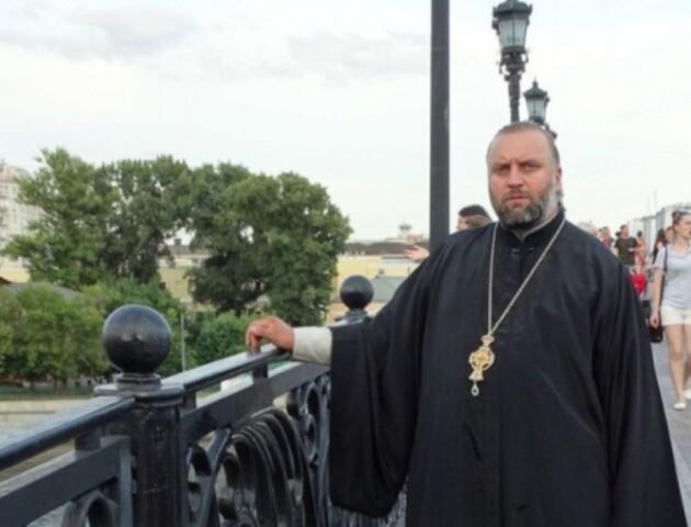 Волинського священника, який привітав Путіна, внесли в базу «Миротворця»