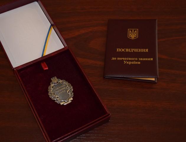 Нагорода від президента: керівнику волинського музею присвоїли почесне звання