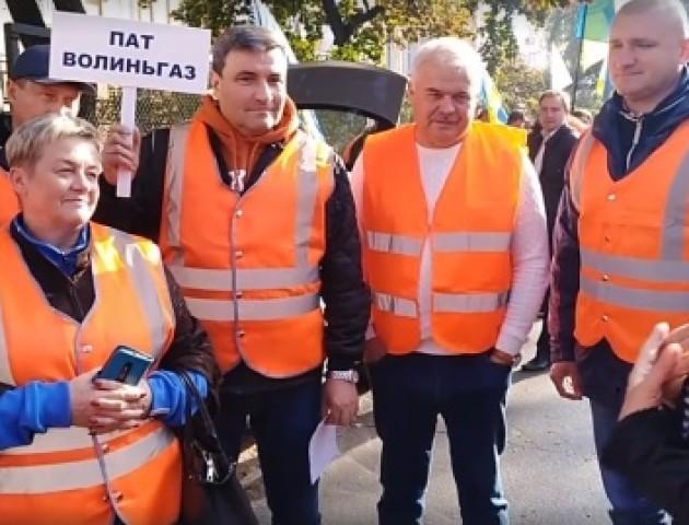 Представники волинської профспілки газовиків зустрілись у Києві з головою НКРЕКП Оксаною Кривенко