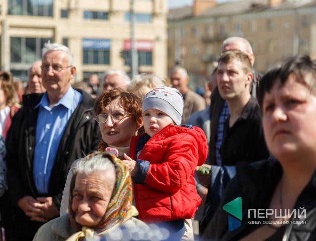 Веселощі і розваги: у Луцьку проходить етно-фестиваль. ФОТО