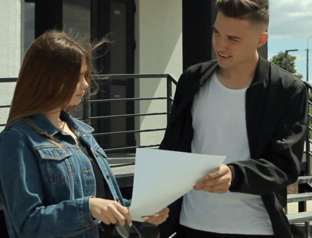 Студенти луцького вишу зняли романтичний ролик про будівельну компанію «Інвестор». ВІДЕО