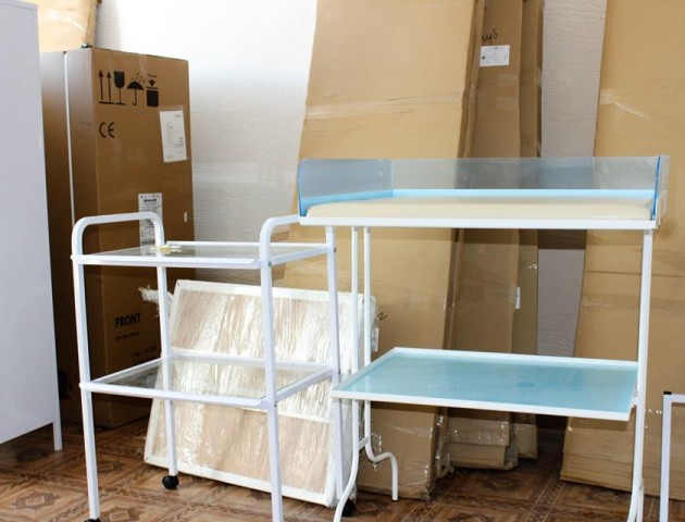 Ковельським амбулаторіям передали нове обладнання від Світового банку. ФОТО