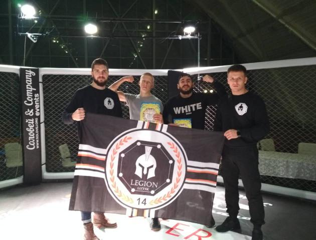 Бійці луцького клубу LEGION побували на змаганнях з ММА