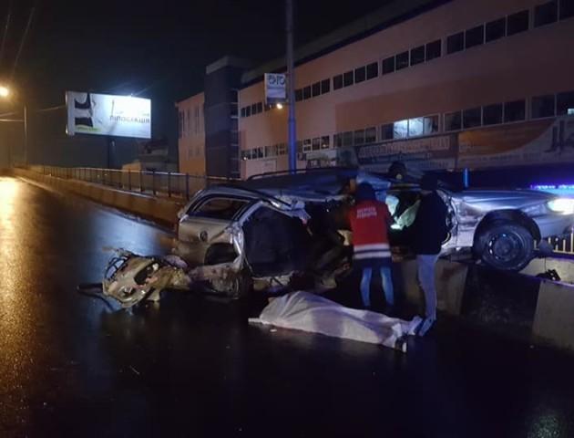 У Луцьку на Рівненському мосту сталася смертельна ДТП. ФОТО