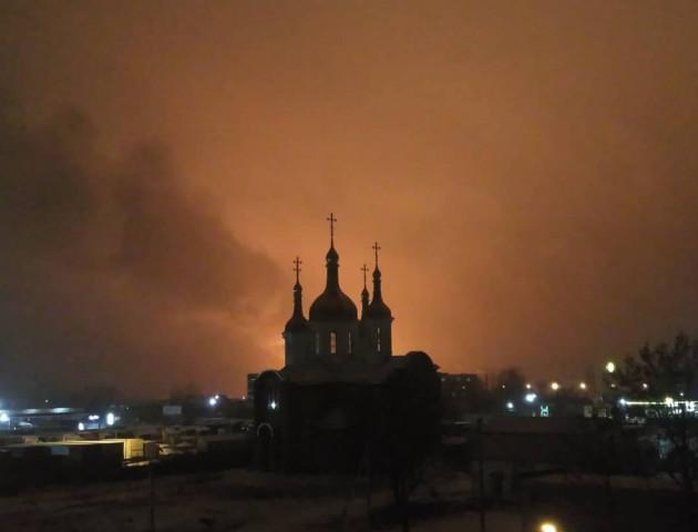 У Ковелі сталась пожежа на території колишньої військової частини, - ЗМІ