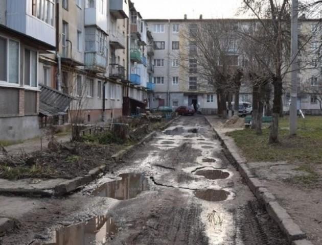 Комунальники відремонтують луцькі двори за понад 6 млн