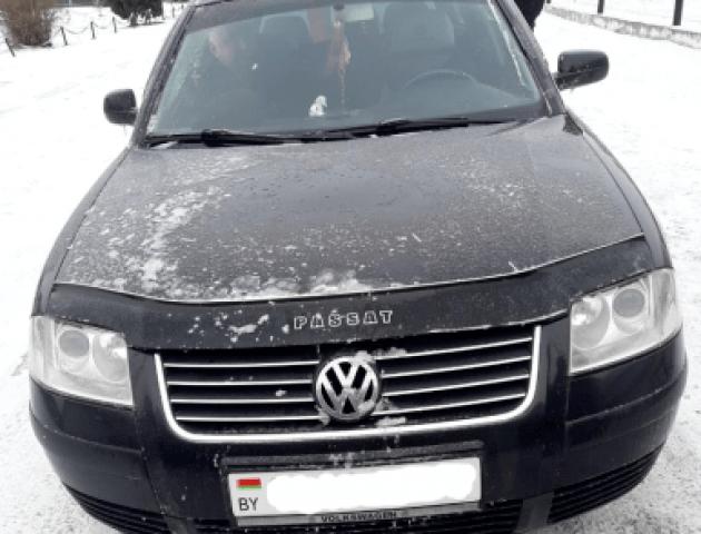 На Волині прикордонники затримали білоруса з георгіївською стрічкою