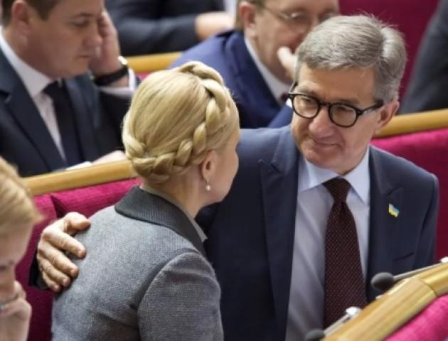Юлію Тимошенко підтримав кандидат Сергій Тарута