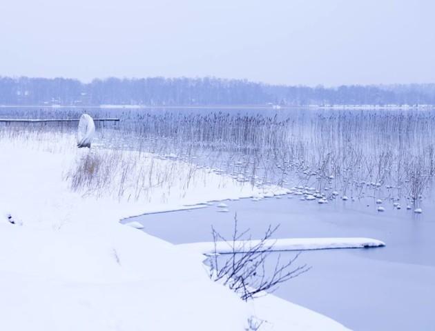Казкові світлини волинського озера. ФОТО