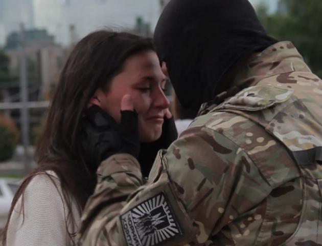 На фестивалі кіно лучанам показали історію кохання на війні