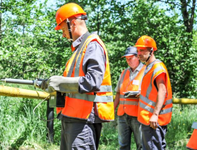 Газовики на Волині перевірять 10 тисяч кілометрів газопроводів