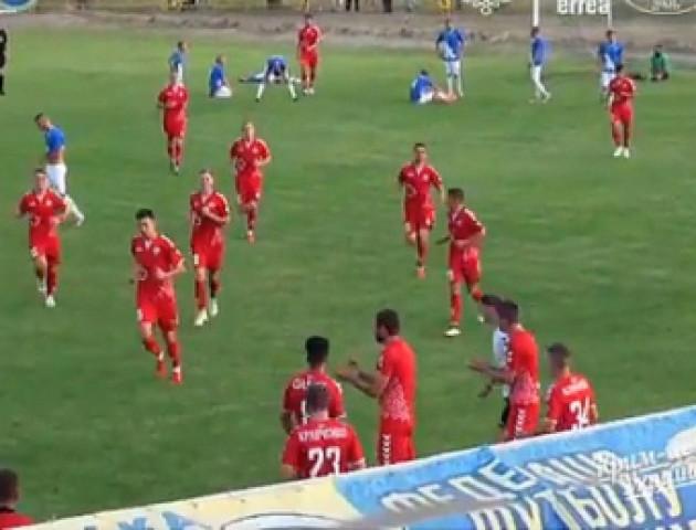 «Волинь» у додатковий час здолала ФК «Таврія»