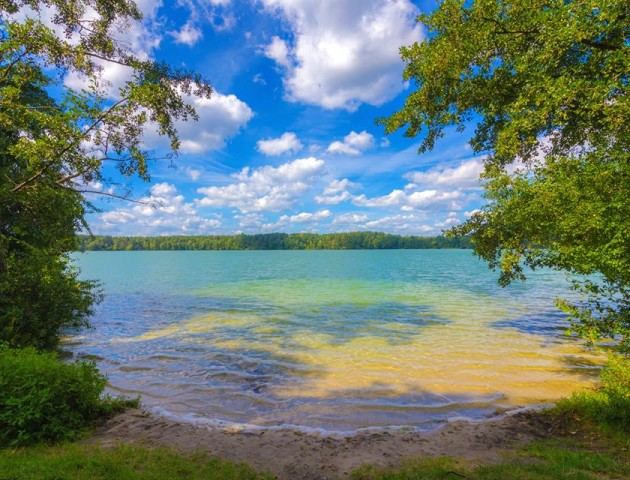 «Блакитна лагуна» Волині: озеро Дружби. ФОТО