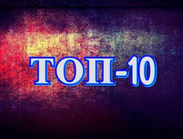 Підсумки року: ТОП-10 найпопулярніших новин