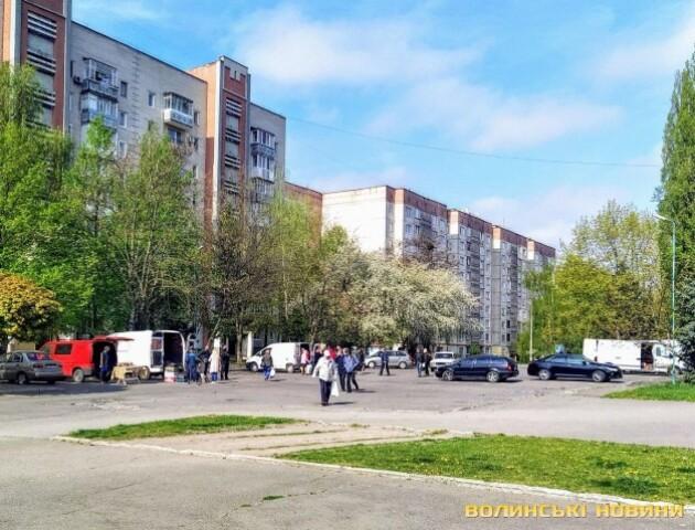 У Луцьку почали працювати продуктові ярмарки