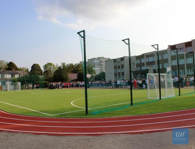 У Володимирі-Волинському відкрили спорткомплекс майже за 2 мільйони