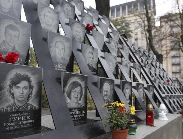 У Києві жорстоко розправилися з вандалом, який розбив меморіал Небесної Сотні. ФОТО 18+