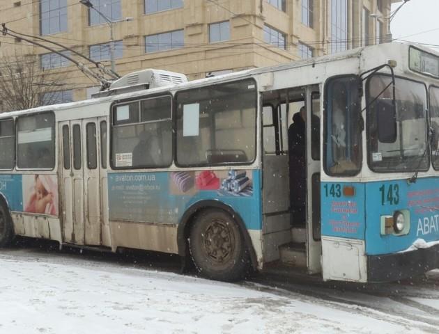 Лучани стали більше їздити на тролейбусах