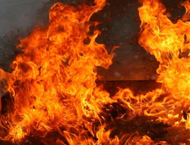 У Волинській області під час пожежі загинув чоловік