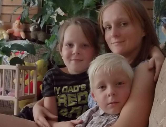 На Волині молода мама двох діток потребує пересадки нирки