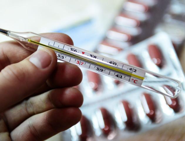 На Волині зростає кількість захворювань на грип та ГРВІ