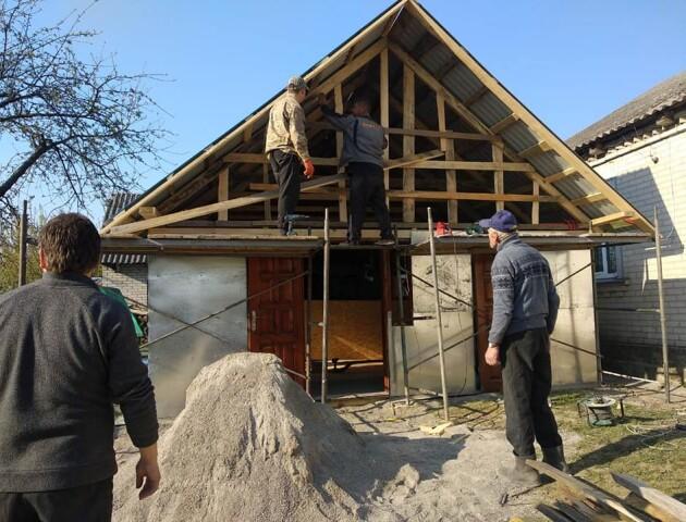 У Жидичині за тиждень збудували новий храм