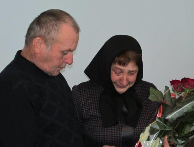 Волинського атовця посмертно нагородили орденом від Президента