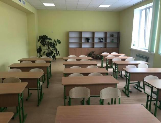 Луцька школа №27 - за кілька днів до відкриття. ФОТО