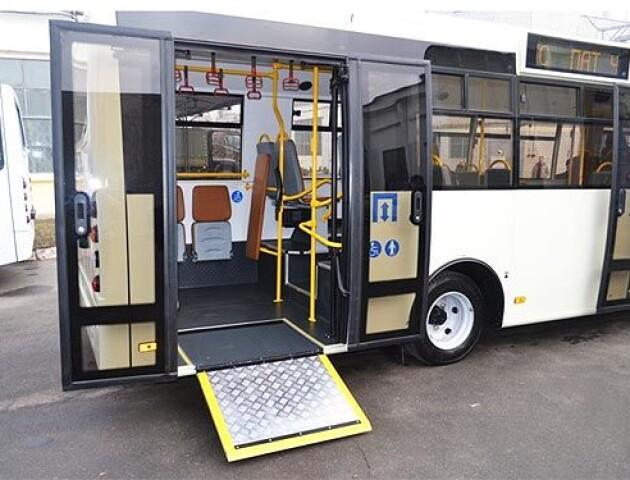 У Луцьку хочуть, щоб автобуси були обладнані для людей з інвалідністю