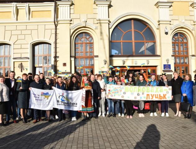 В Луцьк на святкування Великодня прибули гості з Донбасу. ФОТО