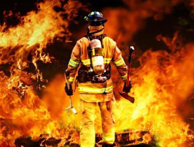 Визначили найсильніших волинських пожежників. ВІДЕО
